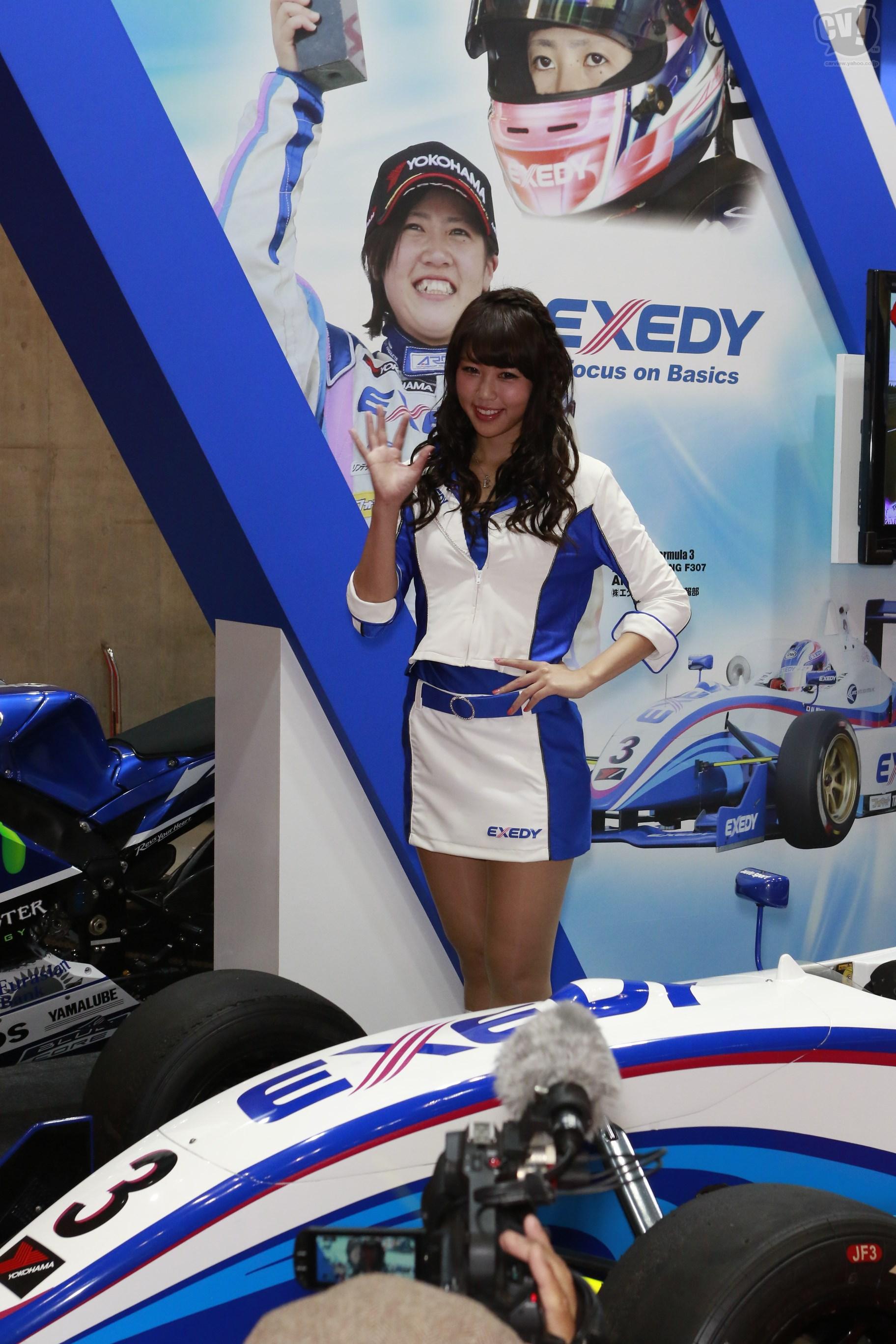 エクセディ Vol.2(滝川メグさん) - 東京モーターショー2015 - carview! - 自動車