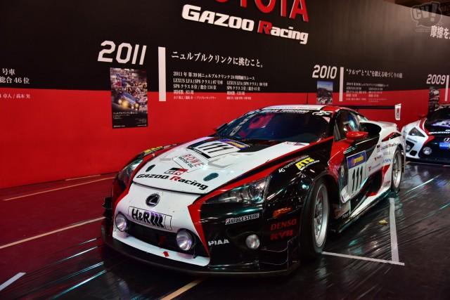トヨタ(GAZOO Racing) LFA#88(2011年ニュルブルクリンク24時間耐久レース参戦車両)