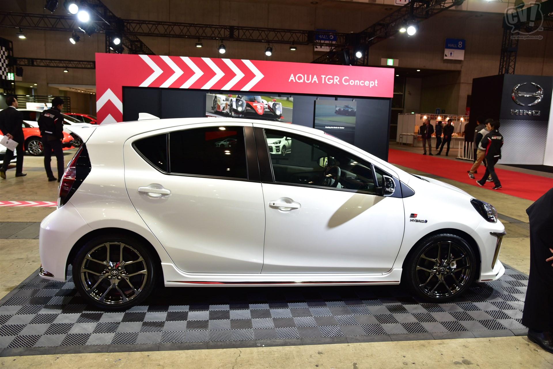 Toyota Aqua TGR Concept