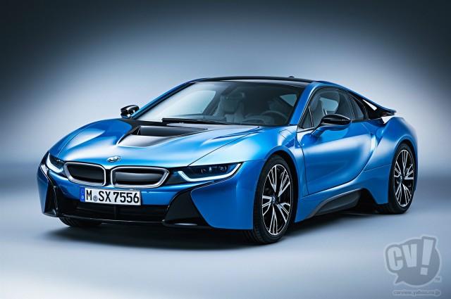 BMW i8 レーザーライト