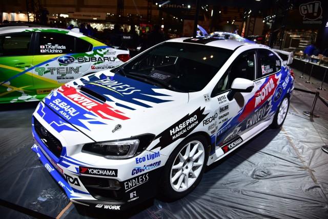 スバル WRX STI 全日本ラリー参戦予定車(新井選手モデル)
