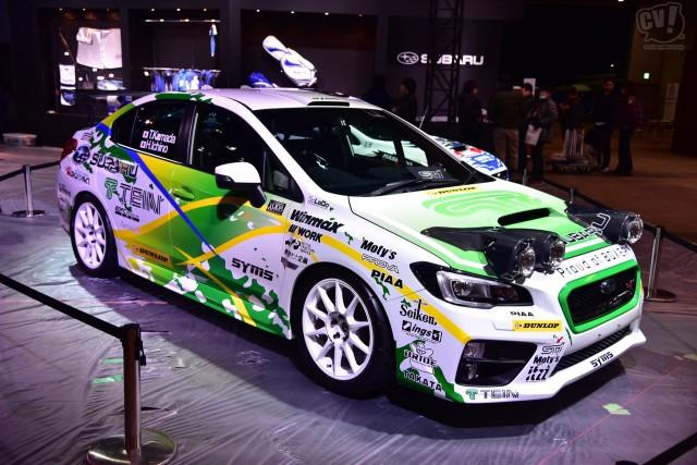 スバル WRX STI 全日本ラリー参戦予定車(鎌田選手モデル)