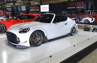 トヨタ(GAZOO Racing) S-FR レーシングコンセプト 擬似3D