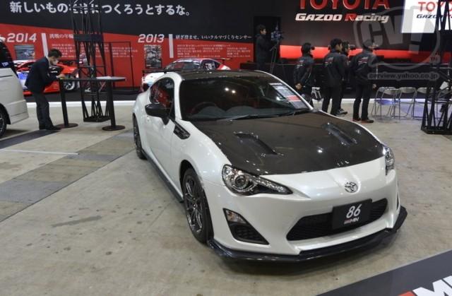 """トヨタ(GAZOO Racing) 86""""GRMN"""" 擬似3D"""