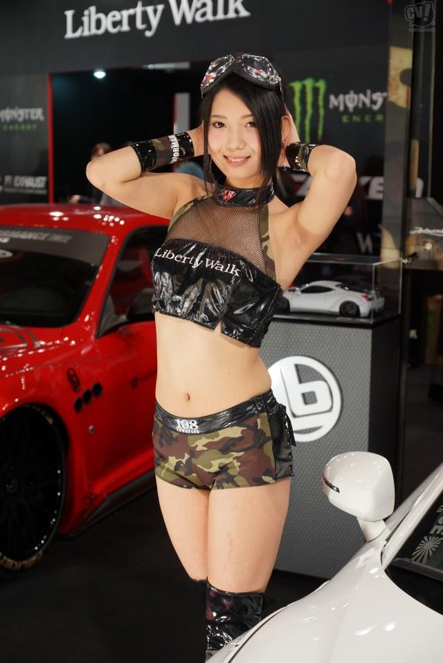 Tokyo motor show models spycam part 1 - 2 10