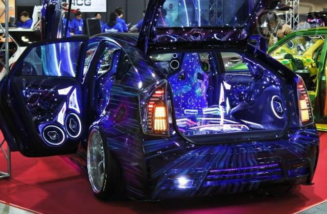 Audio Car Gallery NACKS Galaxy Prius 擬似3D