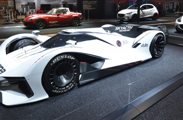 マツダ LM55 ビジョン グランツーリスモ 擬似3D