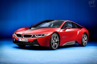 BMW i8プロトニック・レッド・エディション