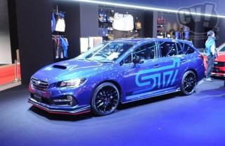 スバル レヴォーグ STI Sport -STI パフォーマンス- 擬似3D