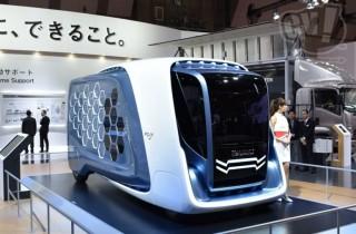 いすゞ デザインコンセプト FD-SI 擬似3D