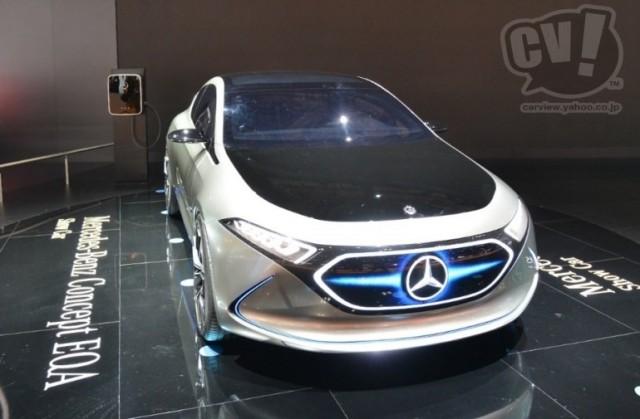 メルセデス・ベンツ Concept EQ A 擬似3D