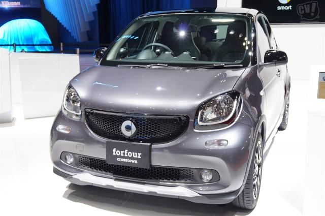 メルセデス・ベンツ smart forfour turbo crosstown limited