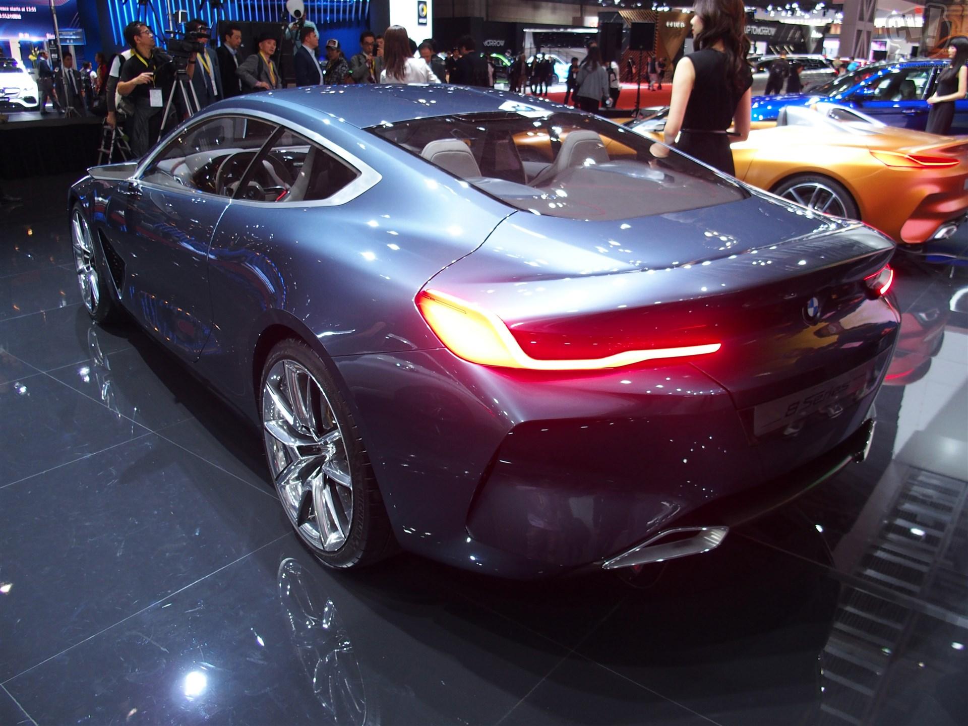 BMW コンセプト 8 シリーズ