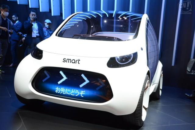 メルセデス・ベンツ smart vision EQ fortwo