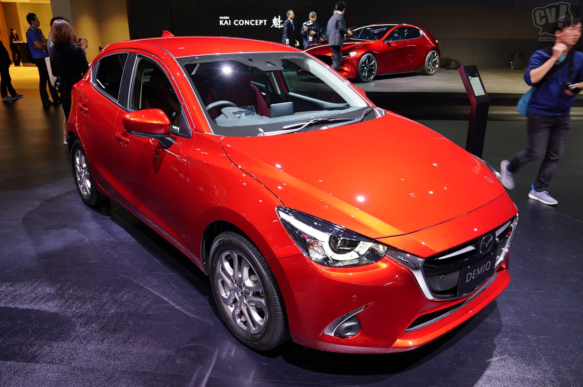 マツダ デミオ特別仕様車「Noble Crimson」