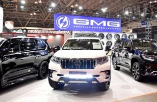 GMG トヨタ ランドクルーザー PRADO TX(ホワイト)擬似3D