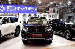 GMG トヨタ ランドクルーザー PRADO TX (ブラック) 擬似3D