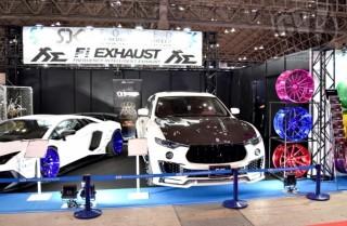AZZURRE MOTORING MASERATI Levante 擬似3D