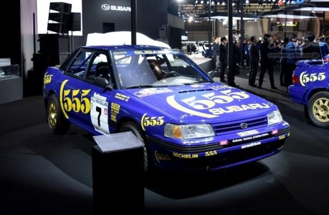スバル/STI スバル レガシィ RS 1993 ニュージーランド ラリー 擬似3D