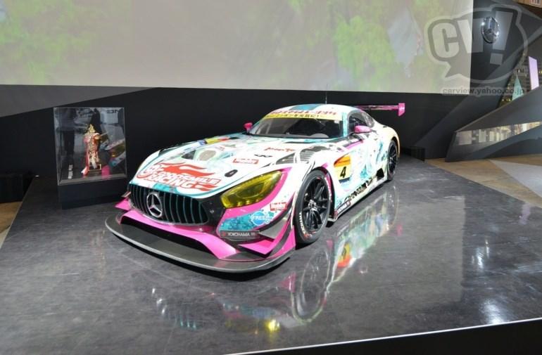 メルセデス・ベンツ グッドスマイル 初音ミク AMG 擬似3D