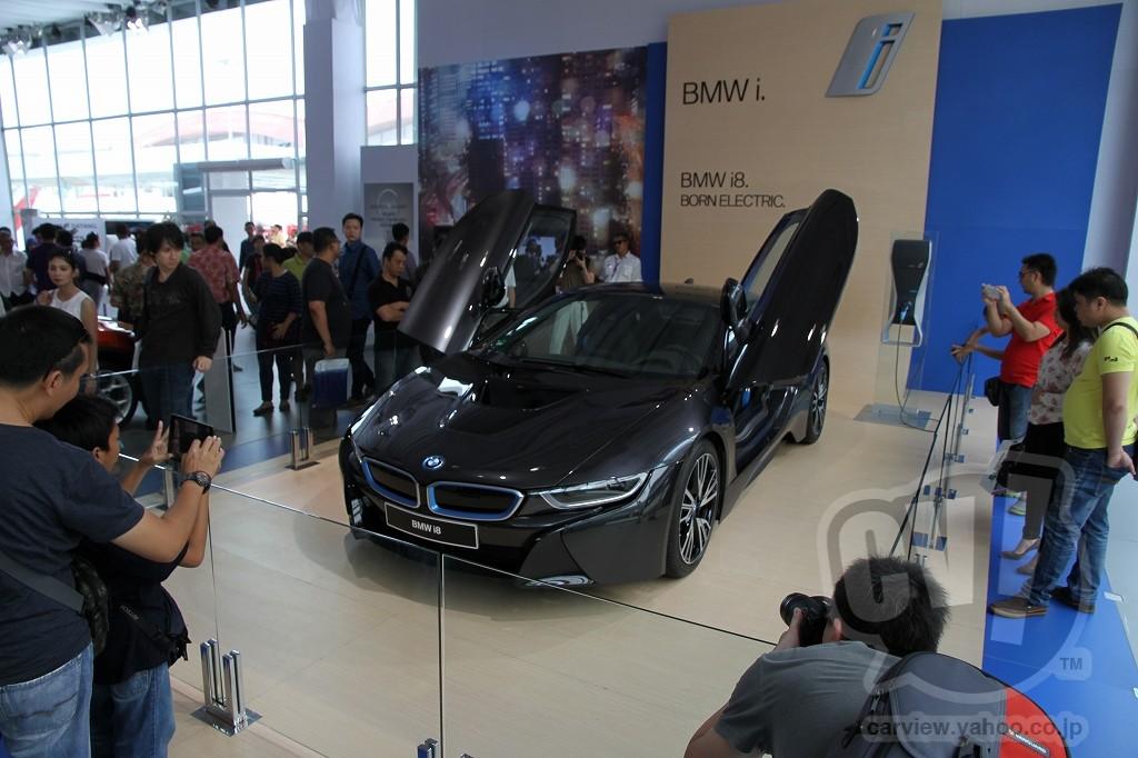【イメージリーダーはi8】BMW ブース