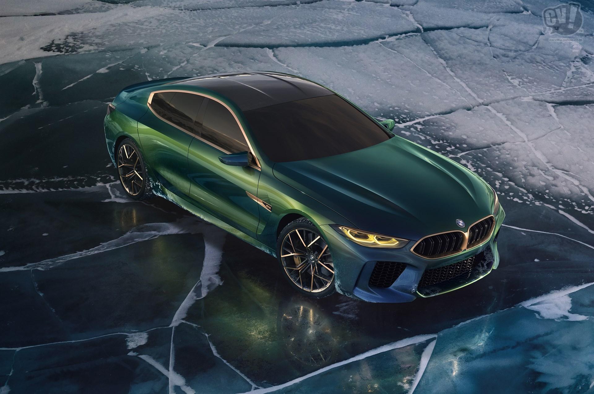 BMW コンセプト M8 グランクーペ