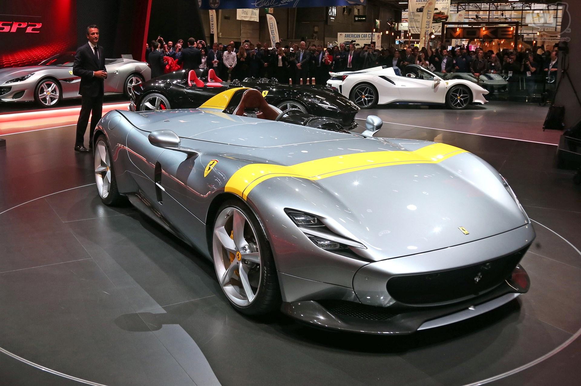 フェラーリ モンツァ SP1&SP2
