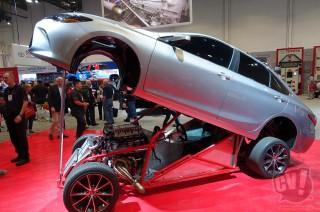 トヨタ カムリのドラッグレース仕様「スリーパーカムリ」