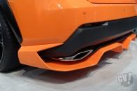 アグレッシヴなエアロを装着した「レクサス NX 200t Fスポーツ」