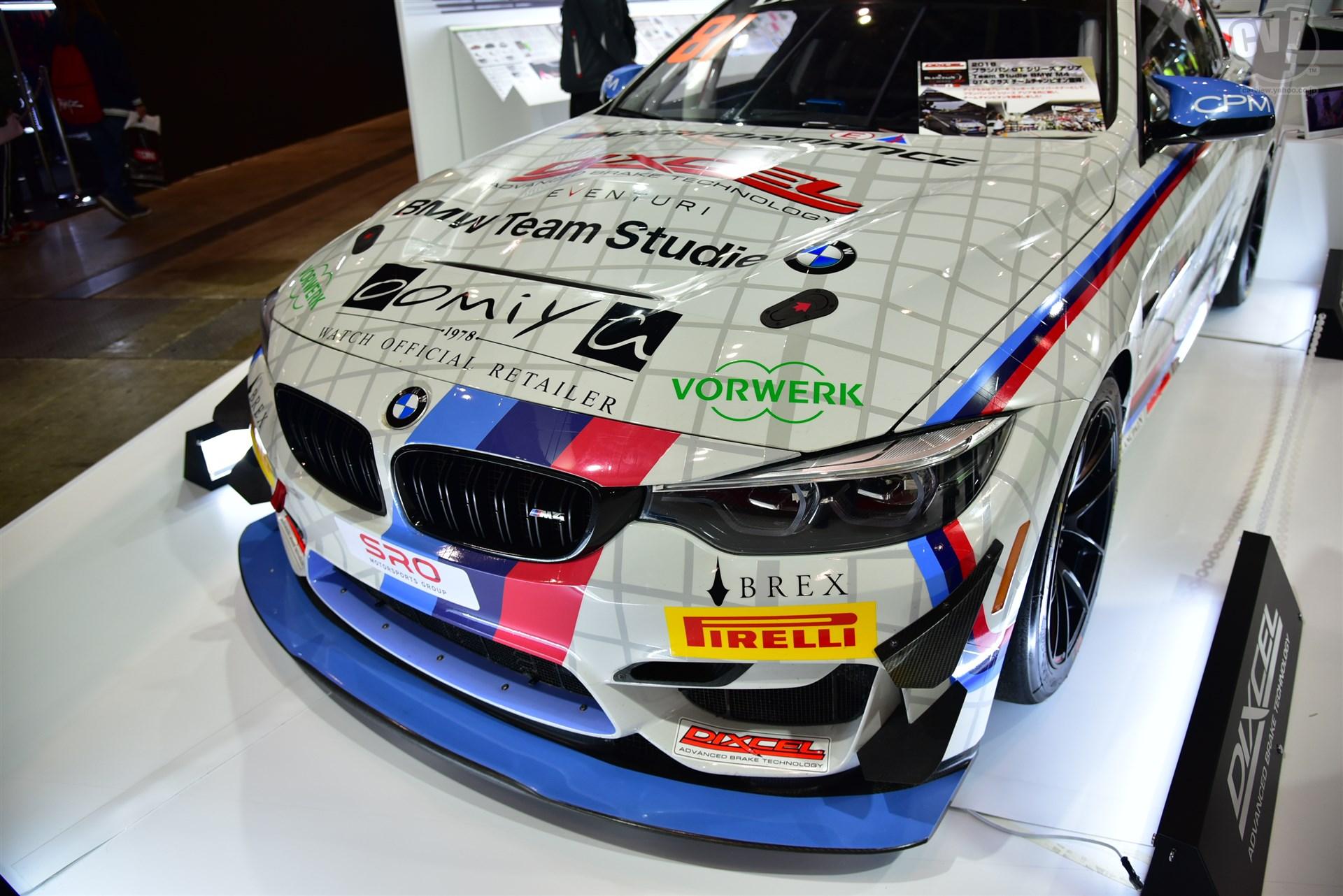 DIXCEL / P@RTS.CO.JP BMW M4 GT4