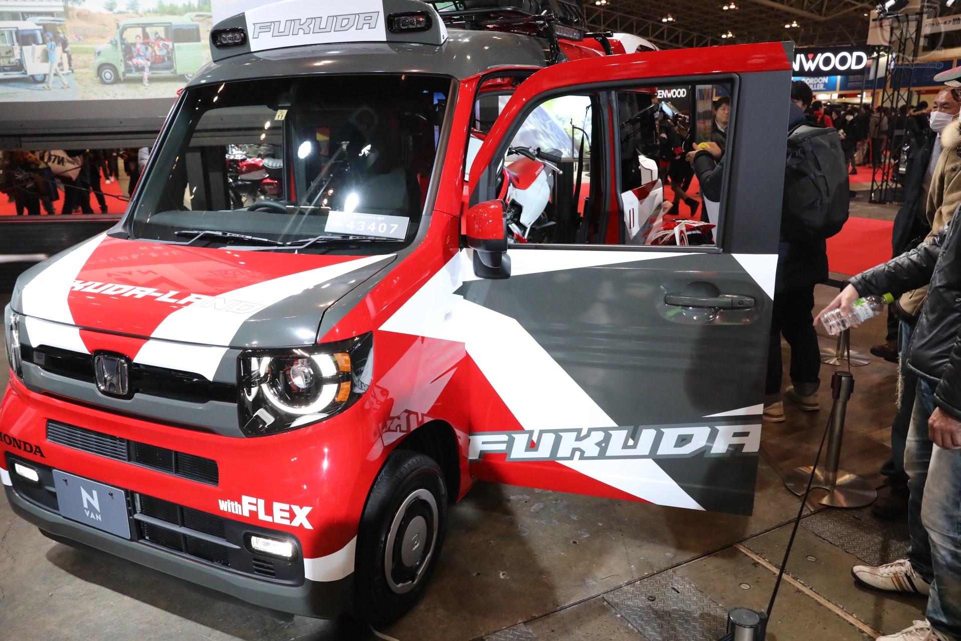 Honda N-VANチュートリアル福田カスタム仕様車 with FLEX