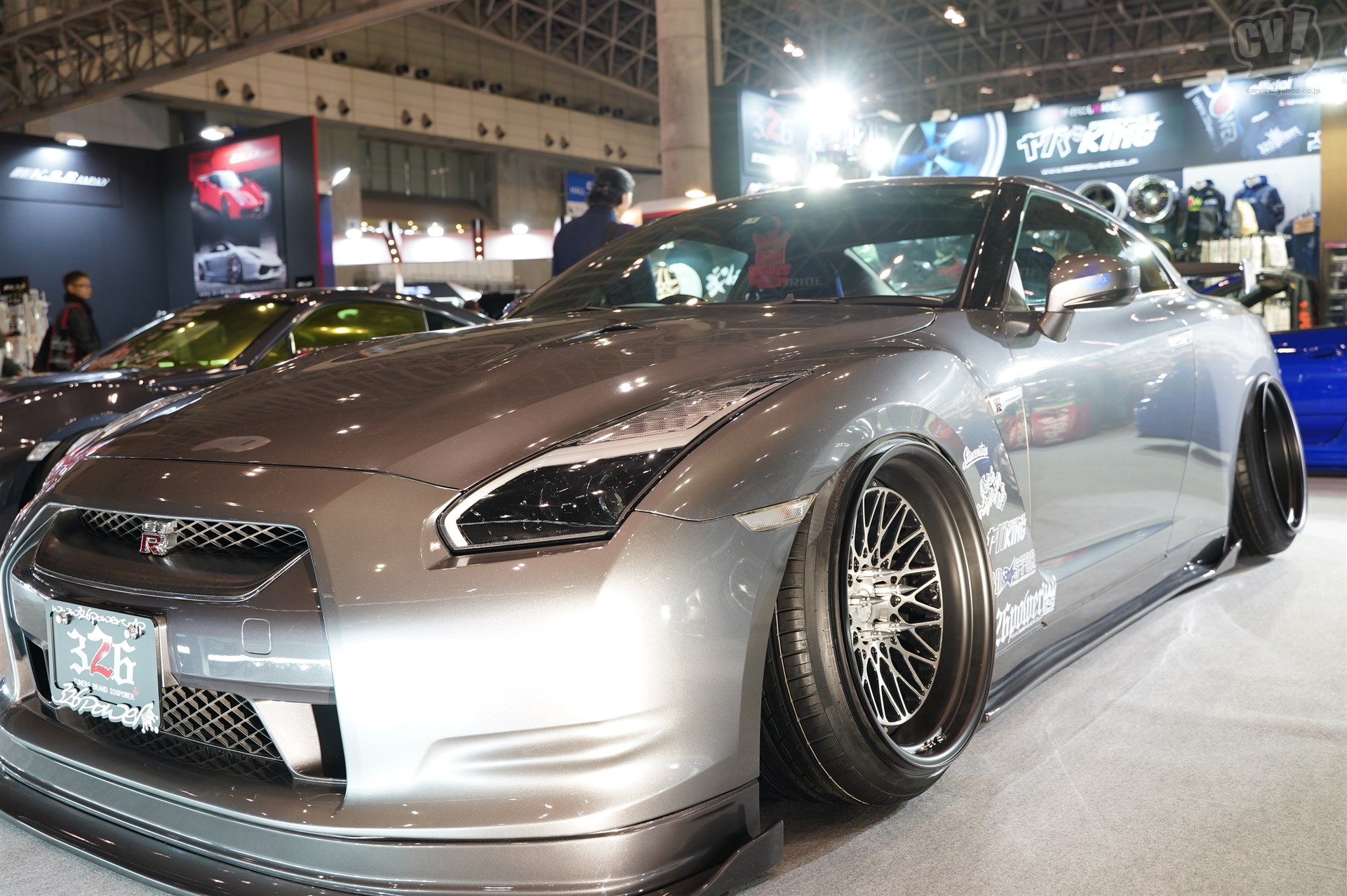 326POWER 3D STAR NISSAN R35 GT-R