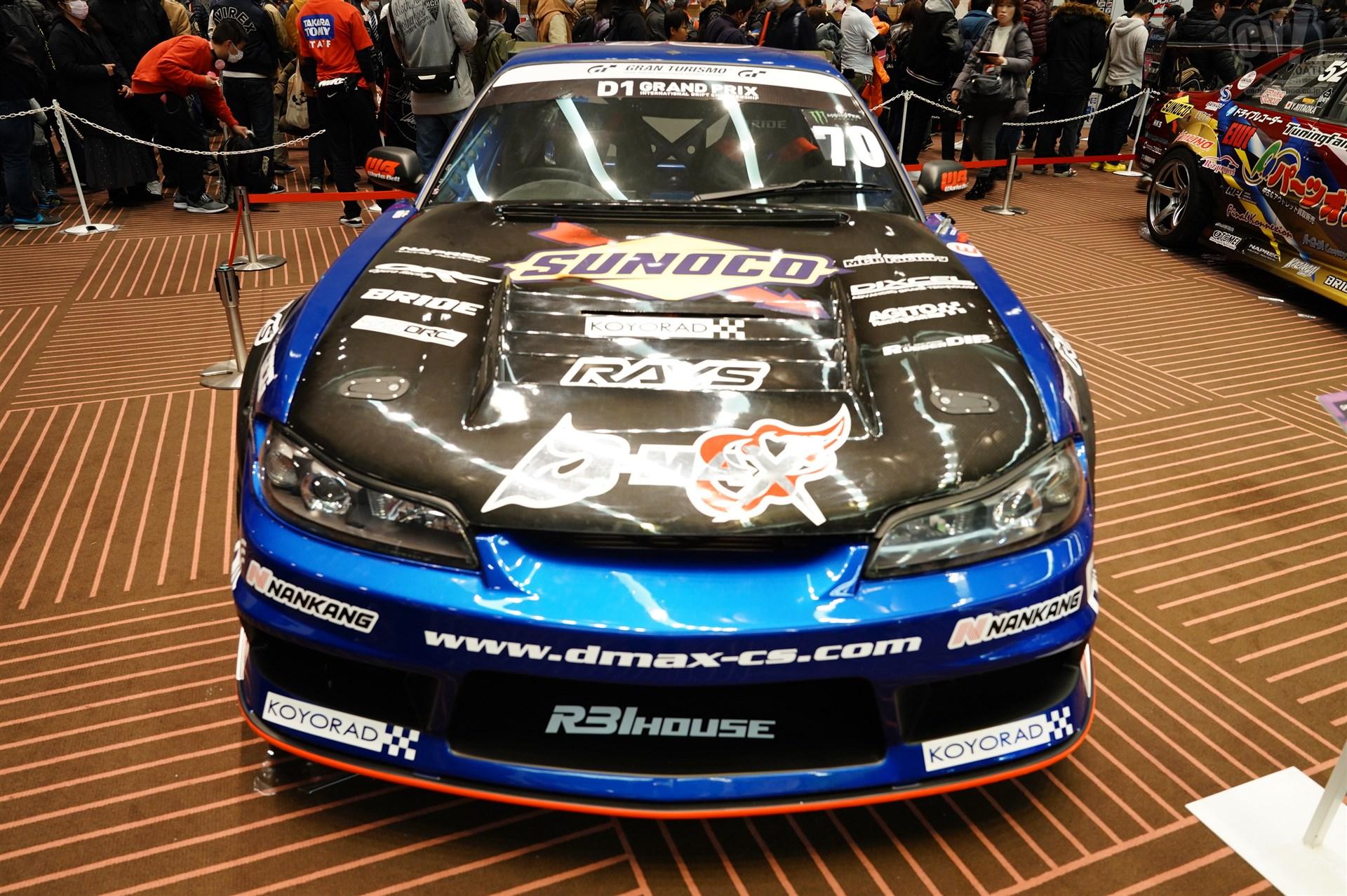 WRC PARK D-MAX S15 SILVIA1号機
