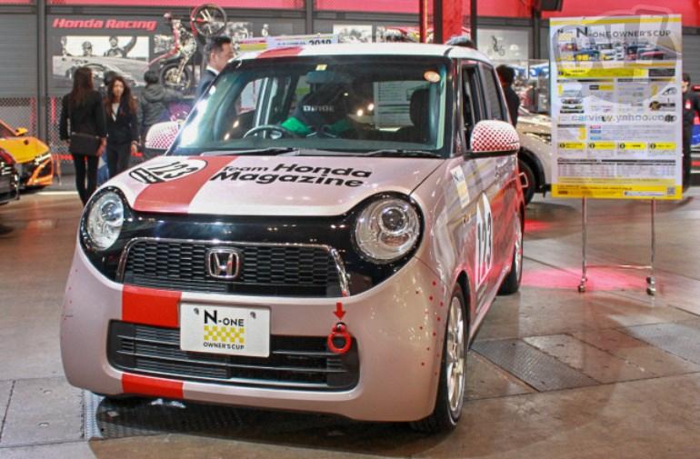 Honda N-ONE OWNERS'S CUP Team Honda Magazine 擬似3D
