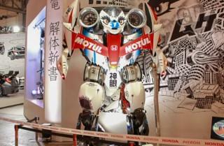 Honda 無限 神電 解体新書ブース 擬似3D