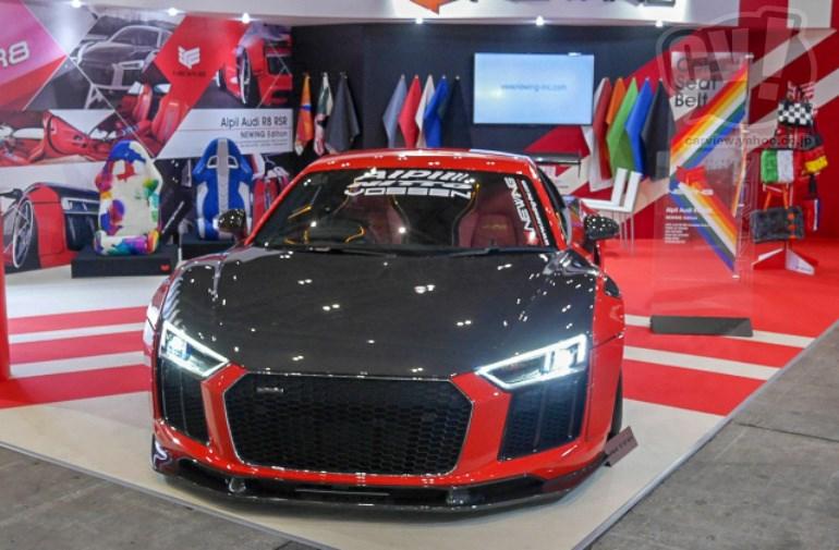 NEWING-inc Audi R8 RSR 擬似3D