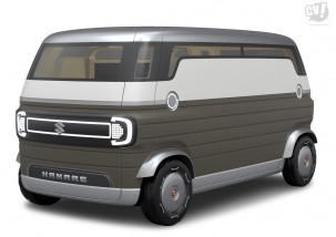 2040年の地方都市で大活躍? 自動運転車「HANARE(ハナレ)」