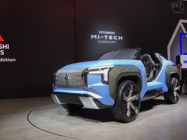 三菱「MI-TECH コンセプト」は4モーターで抜群の悪路走破性を実現。ダカール・ラリーへの期待も?