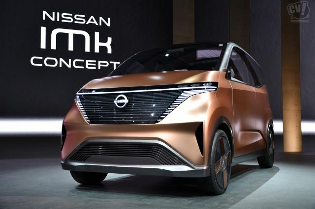 日産、軽自動車サイズのEVシティコミューター「ニッサン IMk」を初公開
