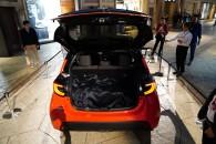 新型トヨタ ヤリス展示 ACCは30km/h未満非対応ながら新TNGAボディの走りに期待