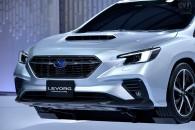 スバル、新型レヴォーグ プロトタイプを世界初披露。新開発の水平対向エンジンを搭載し、国内初採用となるコネクテッドサービスも