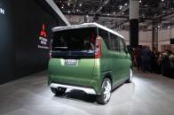 三菱、次期eKスペースを予告するコンセプトカー「スーパーハイトK-ワゴンコンセプト」を世界初披露