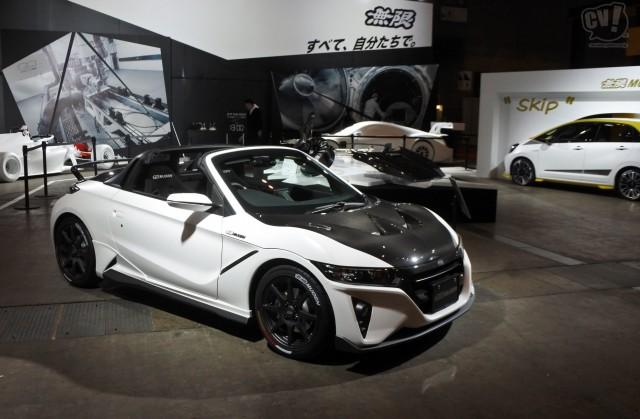 Honda MUGEN S660 コンセプト 疑似3D