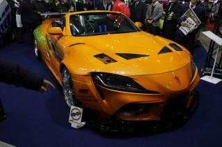 NATS 日本自動車大学校 A90 Spider
