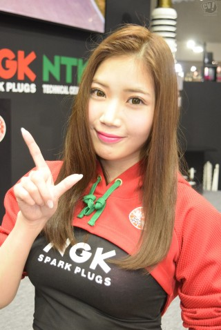 NGKスパークプラグ 水野莉子さん